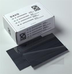 100 Cartes Classeur Davo N3 (156x112mm)