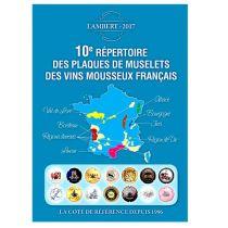 10ème Répertoire Lambert des plaques de muselets de Vins Mousseaux édition 2017