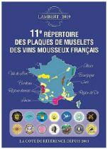 11ème Répertoire Lambert des plaques de muselets de Vins Mousseaux édition 2019