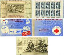 2001 - Carnet Timbres Croix-Rouge 1952