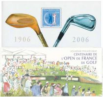 2006 - Timbre Bloc Souvenir France Golf - 13
