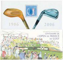 2006 - Timbre Bloc Souvenir France Golf - 13