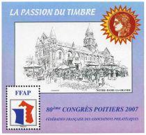 2007 Bloc FFAP n°1 80ème Congrès Poitiers