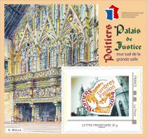 2014 Bloc FFAP n°8 Timbres Passion Poitiers