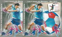 2015 Blocs MARIGNY Handball Dentelé et Non Dentelé