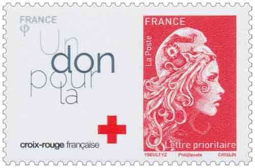 2018 - Timbre France Croix-Rouge du Bloc 145