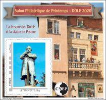 2020 Bloc CNEP n°83  Salon Philatélique de Printemps Dôle