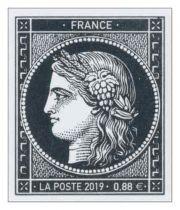 5305 - Timbre France Cérès 0.88 2019