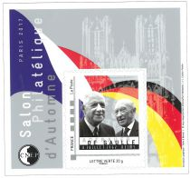 76 - Bloc CNEP De Gaulle Adenauer 2017