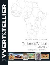 Afrique de Griqualand à Zoulouland Volume 2 2018 Yvert et Tellier Cotation de Timbres