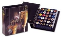 Album Champagne Artline Illustré pages bleues SAFE