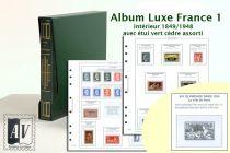 Album France Luxe 1 - 1849/1948 pour Timbres AV