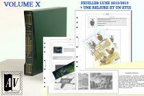 Album France Luxe 10 - 2013/2015 pour Timbres AV