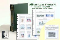 Album France Luxe 4 - 1980/1989 pour Timbres AV
