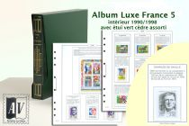 Album France Luxe 5 - 1990/1998 pour Timbres AV