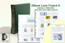 Album France Luxe 6 - 1999/2003 pour Timbres AV