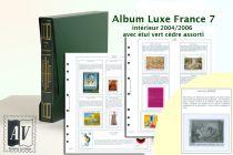Album France Luxe 7 - 2004/2006 pour Timbres AV