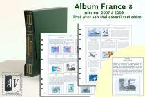 Album France Luxe 8 - 2007/2009 pour Timbres AV
