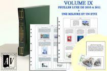 Album France Luxe 9 - 2010/2012 pour Timbres AV