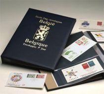 Album Luxe FDC Belgique I Noir