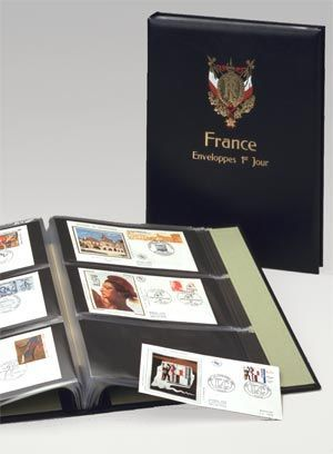 Album Luxe FDC France I Noir