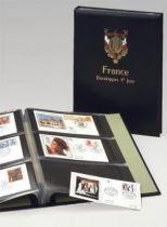 Album Luxe FDC France I Noir