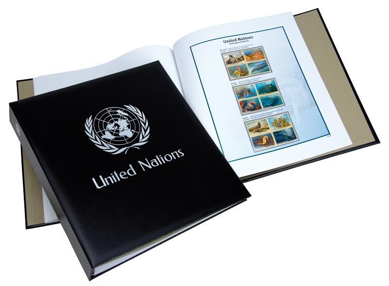 Album Luxe Nations Unies Espèces en danger 1993-2012