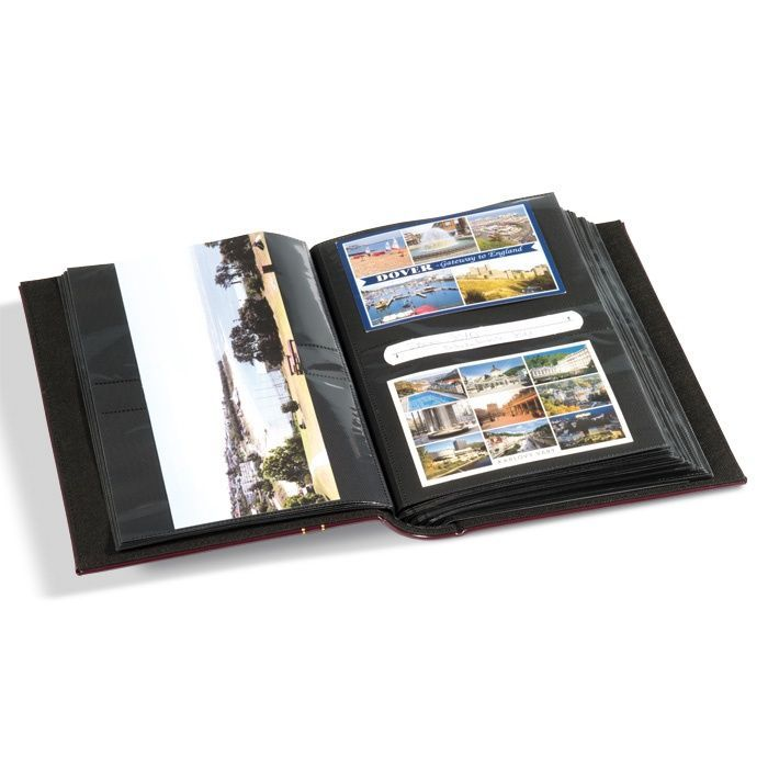 album multi usage 200 cartes postales leuchtturm. Black Bedroom Furniture Sets. Home Design Ideas
