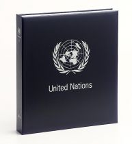 Album Standard-Luxe Nations Unies New York (1) I 1951-1995 pour Timbres DAVO