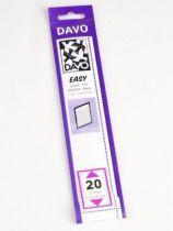 Bandes Davo Easy Noir Z20