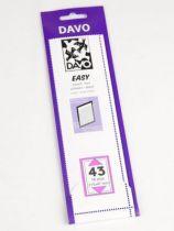 Bandes Davo Easy Noir Z43
