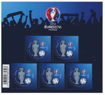 BF137 Bloc Timbre France EURO2016