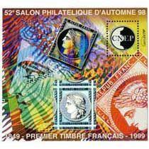 Bloc CNEP 52eme Salon Philatelique d\'Automne 1998