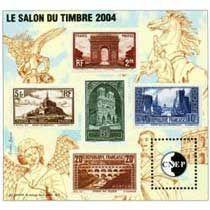 Bloc CNEP Salon du Timbre Paris 2004