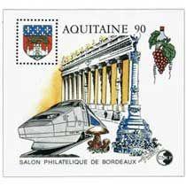 Bloc CNEP Salon Philatelique de Bordeaux 1990