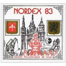 Bloc CNEP Salon Philatelique de Lille Nordex 1983