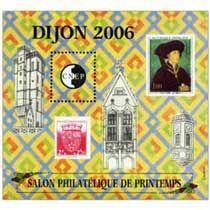 Bloc CNEP Salon Philatelique de Printemsp Dijon 2006