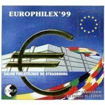 Bloc CNEP Salon Philatelique de Starsbourg 1999
