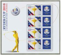 Bloc Timbres France Ryder Cup 2018