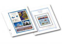 Capitale Européenne Tallinn 2018 Feuilles annuelles Luxe pour Timbres DAVO