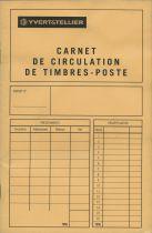 Carnet pour circulations 16 pages avec bandes Yvert