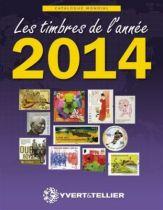 Catalogue des Timbres de l\'Année 2014 Yvert et Tellier