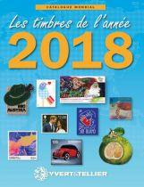 Catalogue des Timbres de l\'Année 2018 Yvert et Tellier