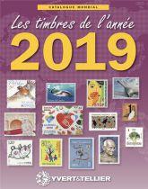 Catalogue des Timbres de l\'Année 2019 Yvert et Tellier