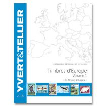 Catalogue Europe Volume 1 Cotation Timbres Albanie à Bulgarie 2014 Yvert et Tellier