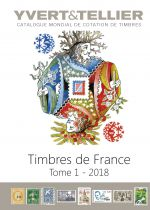 Catalogue France Tome 1 Cotation Timbres 2018 Yvert et Tellier