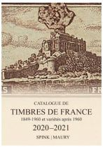 Catalogue Maury Spink Timbres de France 2020/21