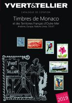 Catalogue Monaco, Andorre, Territoires Outre-Mer  Tome 1 bis Cotation Timbres 2019 Yvert et Tellier