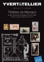 Catalogue Monaco, Andorre, Territoires Outre-Mer  Tome 1 bis Cotation Timbres 2020 Yvert et Tellier