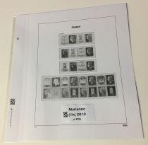 Feuille Luxe 40ème Anniv. Imprimerie Périgueux 2010
